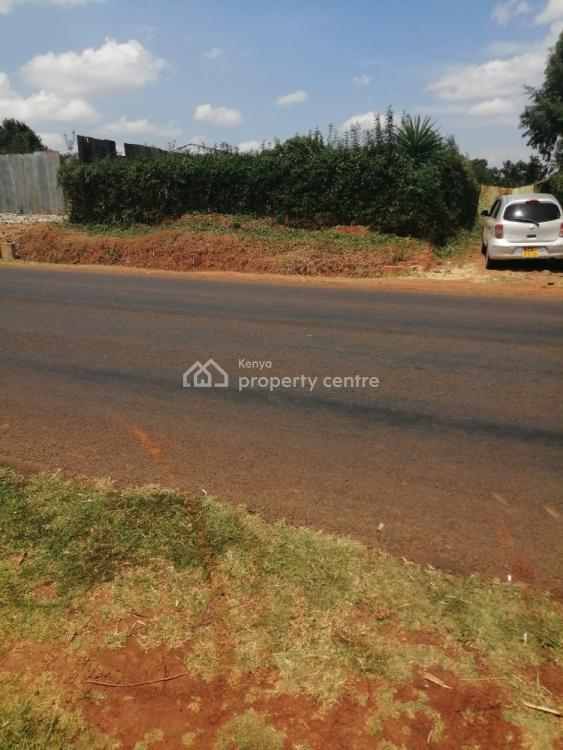Prime Eighth Touching Tarmac in Kamangu Kikuyu., Kamangu Kikuyu, Kikuyu, Kiambu, Land for Sale