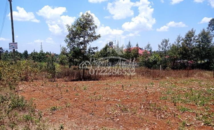 Land Touching Tarmac, Kamangu, Kikuyu, Kiambu, Commercial Land for Sale