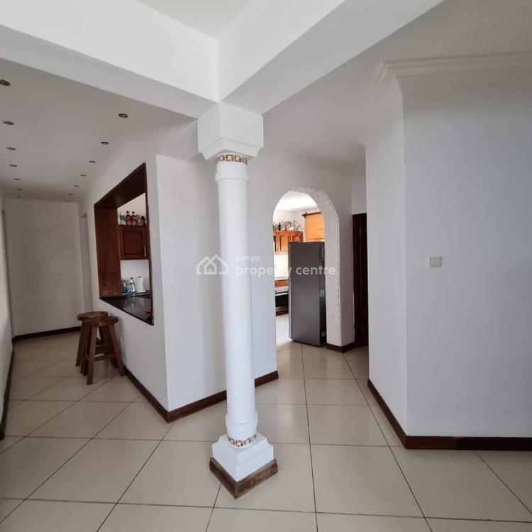 Beach Front 3 Bedroom Fully Furnished Apartment with Swimming Pool, Mkomani Area, Nyali, Mombasa, Apartment for Rent