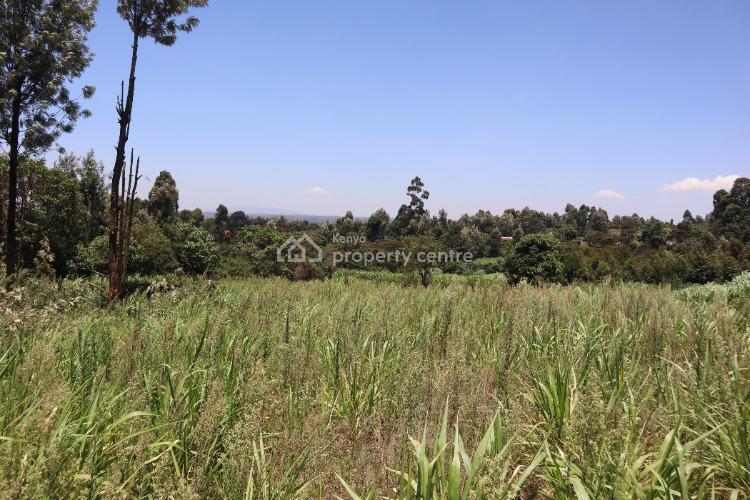 Prime Land for Development in Ruaka Kiambaa, Ndernderu Banana Link Road, Ndenderu, Kiambu, Residential Land for Sale