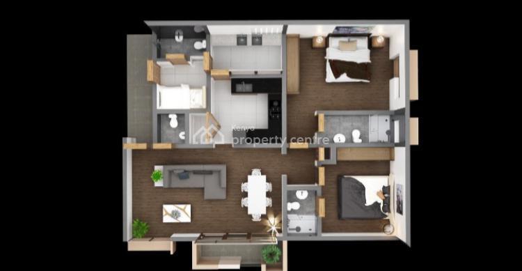 2 Bedroom Apartment, Road Kilimani Area, Kilimani, Nairobi, Apartment for Rent