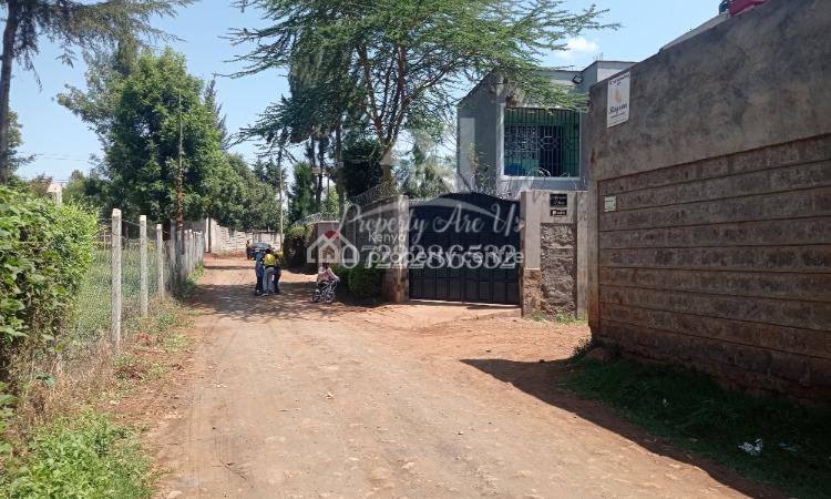 Plot, Thogoto Near Damacrest School, Kikuyu, Kiambu, Commercial Land for Sale