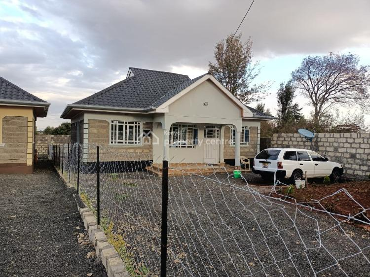 Newly Built 3 Bedroom Bungalow with Perimeter Wall and Dsq in Rongai, Nkoroi, Ongata Rongai, Kajiado, House for Sale