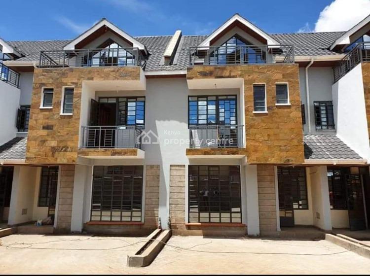 Beautiful 4 Bedroom Maisonette 2 Ensuite a Gated Community in Kikuyu, Gikambura 200meters From The Tarmac Road, Kikuyu, Kiambu, House for Sale