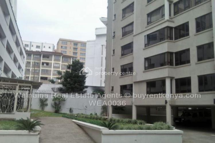 3 Bedroom Apartments, Riverside, Westlands, Nairobi, Flat for Rent