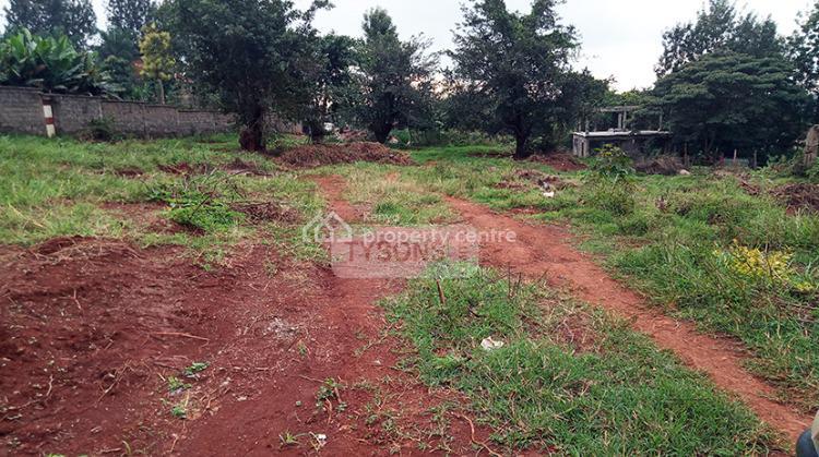 Thindigua Plot, Thathi-ini, Githiga (githunguri), Kiambu, Land for Sale
