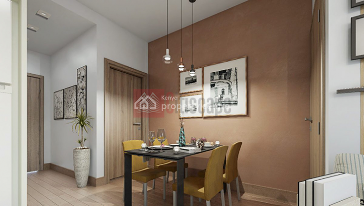 Wilma Towers: 1 Bedroom Apartment, Kilimani, Nairobi, Flat for Sale