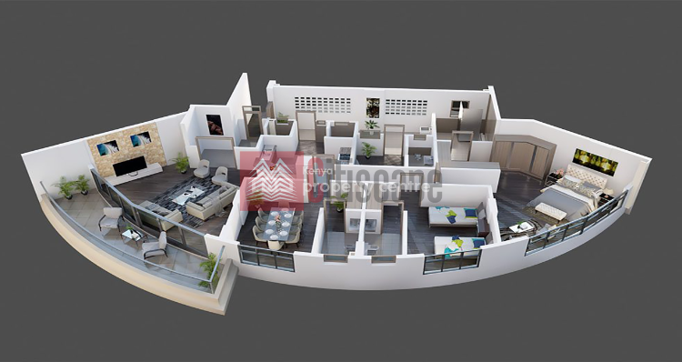 Distinctive 3 Bed Apartments+dsqs, Nyali, Mombasa, Flat for Sale