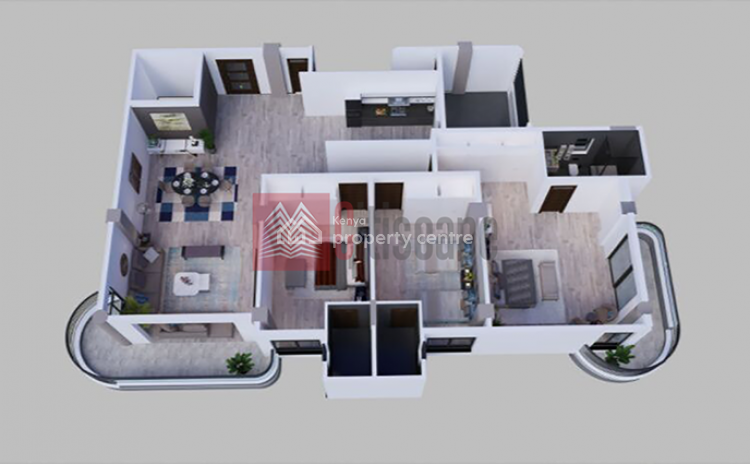 Fantastic 2 Bed Apartments, Kilimani, Nairobi, Flat for Sale