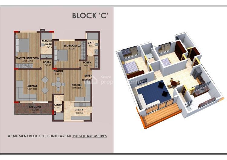 Dwarkesh Apartments, Parklands, Nairobi, Flat for Rent