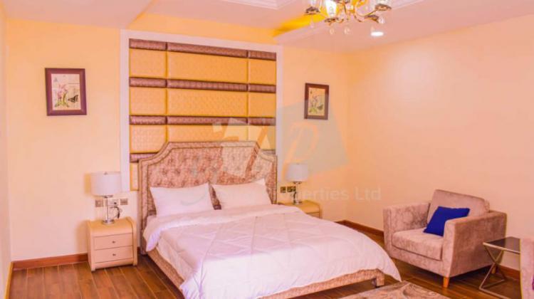 3 Bedroom + Dsq Serviced Apartment, Hurlingham, Kilimani, Nairobi, Flat for Rent