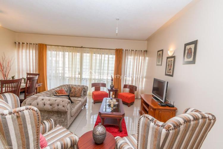 Fully Furnished 2 Bedrooms Apartment, Off Rhapta Road, Westlands, Nairobi, Flat for Rent