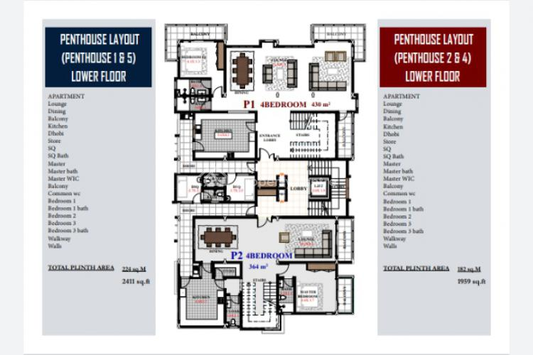 4br Off Plan Apartment in Nyali-third Avenue Beach Apartment.as4-nyali, Nyali, Mombasa, Apartment for Sale