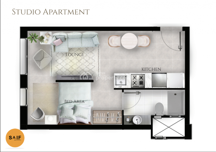 Studios in an Ideal Location in Kileleshwa, Othaya Road, Kileleshwa, Nairobi, Flat for Sale