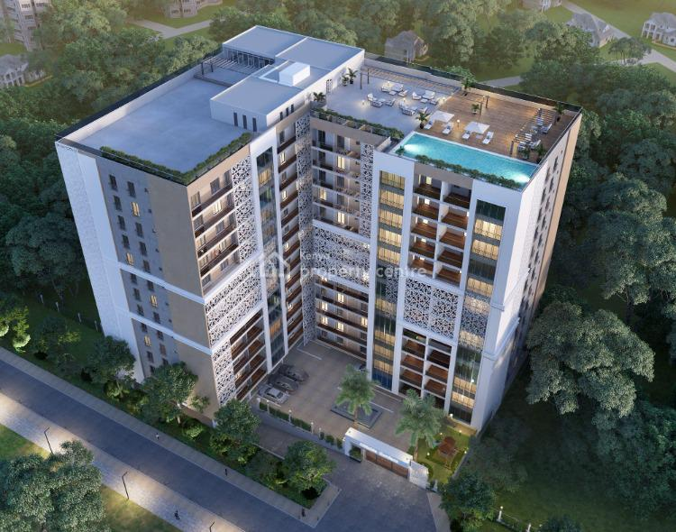 Off-plan 3 Bedroom Apartments Overlooking Muthaiga Forest, City Park Drive, Parklands, Nairobi, Flat for Sale