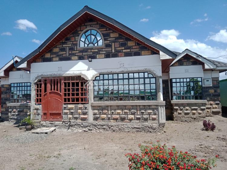 Serene Newly Built 3 Bedroom Bungalow, New Road to Uriithi Estate, Lanet/umoja, Nakuru, Detached Bungalow for Sale
