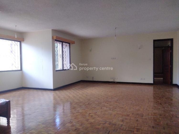 Classic Spacious 4 Bedroom & Sq, Rhapta Road, Westlands, Nairobi, Flat for Rent