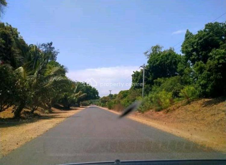 Bofa 2nd Raw Beach Plots at Kilifi, Malindi Town, Kilifi, Residential Land for Sale
