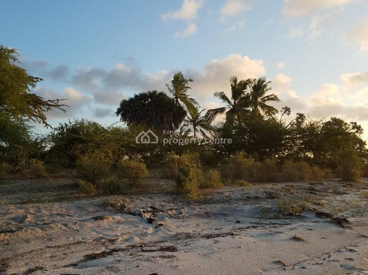 1.3 Acres Prime Beach Front Property in Lamu, Pate Island, Witu, Lamu, Mixed-use Land for Sale