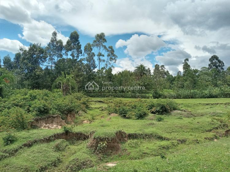 a Parcel of Land in a Serene Location, Lumakanda, Kakamega, Mixed-use Land for Sale