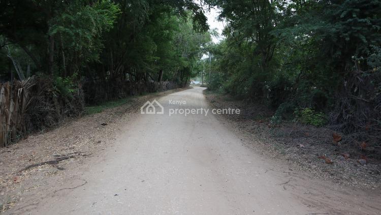 One Acre of Land Second Row From The Beach, Kikambala, Mtwapa, Kilifi, Mixed-use Land for Sale