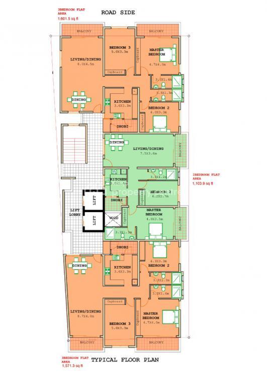 3 Bedroom Apartment in Sega Near Statium Mombasa Kenya, Sega, Majengo, Mombasa, Apartment for Sale