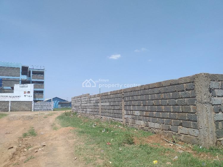 Superbly Located Quarter Acre Plot in Tuala , Sholinke  Area, Sholinke - Tuala, Ongata Rongai, Kajiado, Residential Land for Sale