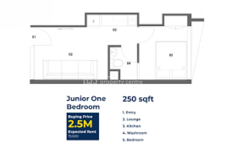 Studio Apartmemt, Ngong Road.wanye Road, Lavington, Nairobi, Self Contained (single Rooms) for Sale