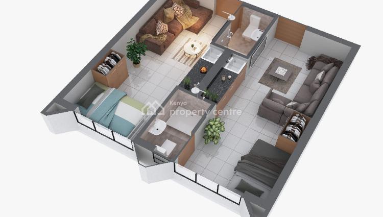 Studios,1$ 2 Bedroom Apartment, Kiambu Road,thindigua, Thika, Kiambu, Mini Flat for Sale