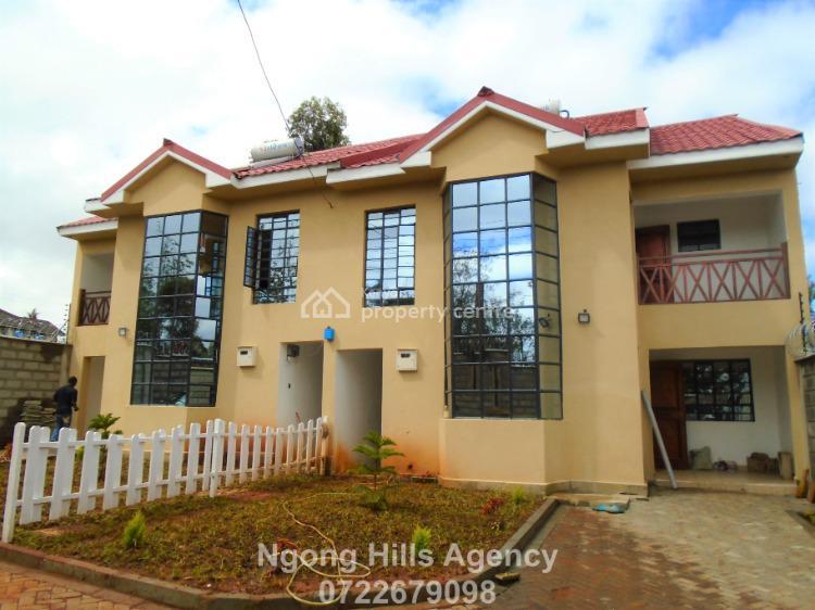Four Bedrooms Townhouse with a Dsq  in Kibiko, Kibiko, Ngong, Kajiado, Townhouse for Rent