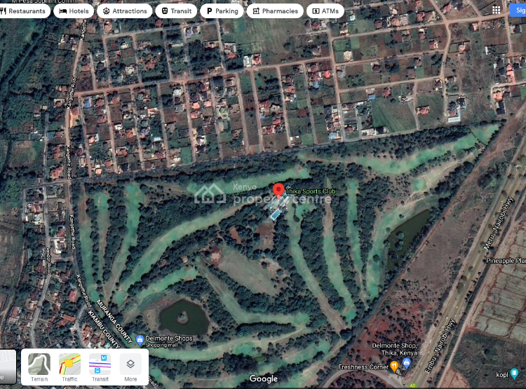 Thika Sports Club Area Prime Plot, Kangethe Road, Hospital (thika), Kiambu, Mixed-use Land for Sale