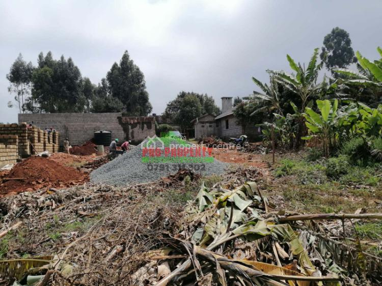 Residential/commercial Land in Kikuyu, Gikambura., Gikambura, Thigio, Kikuyu, Kiambu, Mixed-use Land for Sale