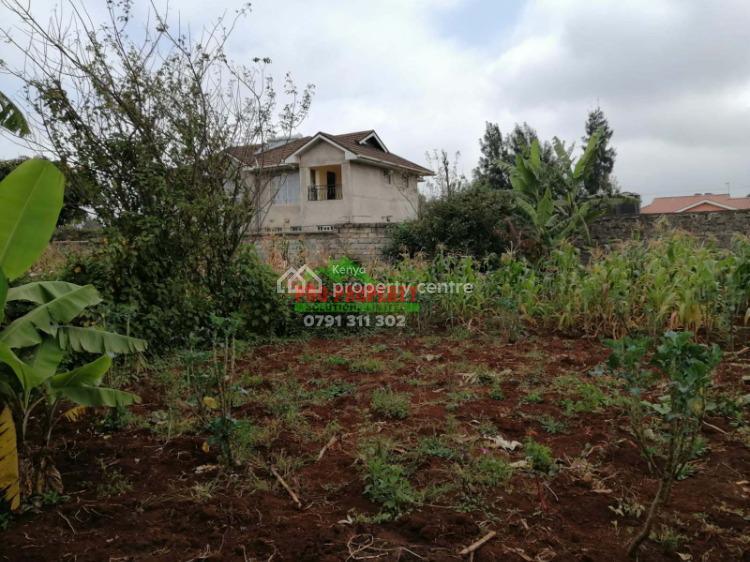 Amazing Residential Plot F, Thogoto, Kikuyu, Kiambu, Residential Land for Sale