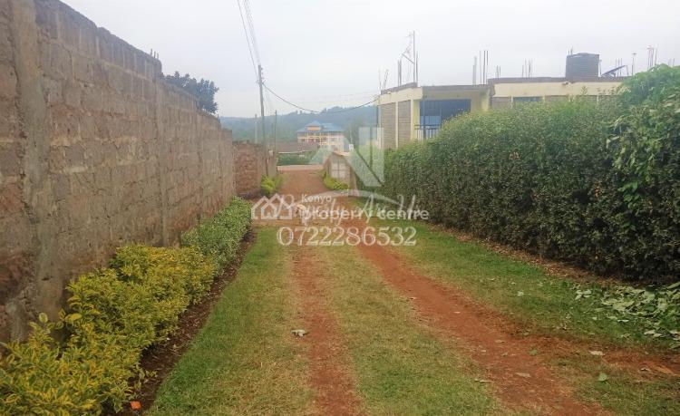 Prime ¼ Acre Commercial (flats) Or Residential, Thogoto, Kikuyu, Kiambu, Commercial Land for Sale