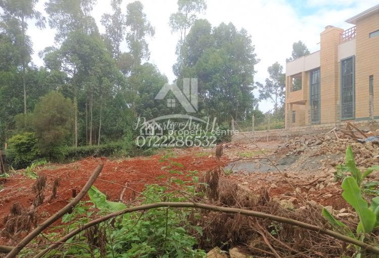 Prime Residential Plot, Ondiri, Kikuyu, Kiambu, Residential Land for Sale