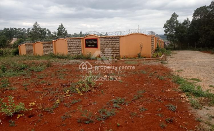 Prime Plot in a Gated Estate, Ondiri, Karai, Thigio, Kikuyu, Kiambu, Residential Land for Sale