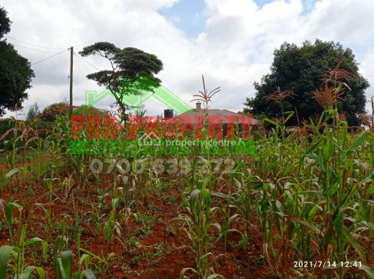 50 By 100 Prime Plot, Mai a Ihii, Kikuyu, Kiambu, Residential Land for Sale