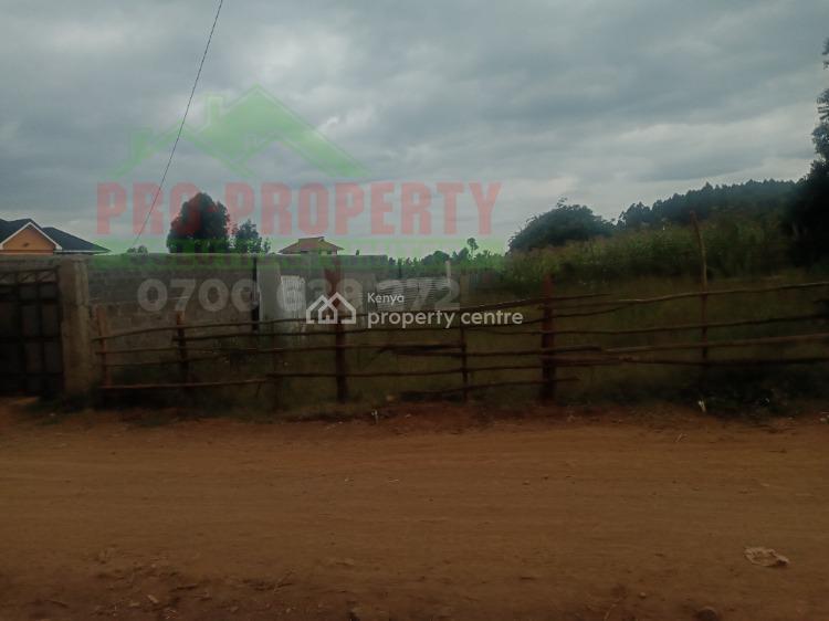 Prime 50 By 100 Plot, Kamangu,kanyayo Road, Kikuyu, Kiambu, Mixed-use Land for Sale