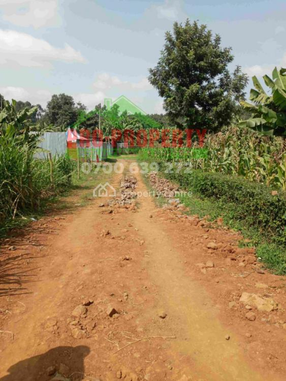 50 By 100 Commercial Plot, Thogoto, Kikuyu, Kiambu, Land for Sale
