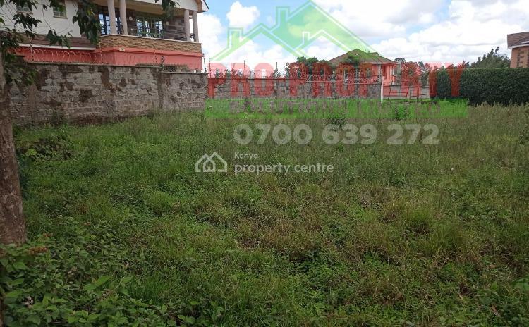 100 By 100 Ft Prime Plot, Sigona, Sigona, Kiambu, Residential Land for Sale