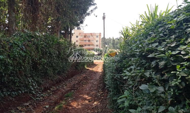 Commercial Plot (ideal for Flats), Muthure, Kikuyu, Kikuyu, Kiambu, Commercial Land for Sale