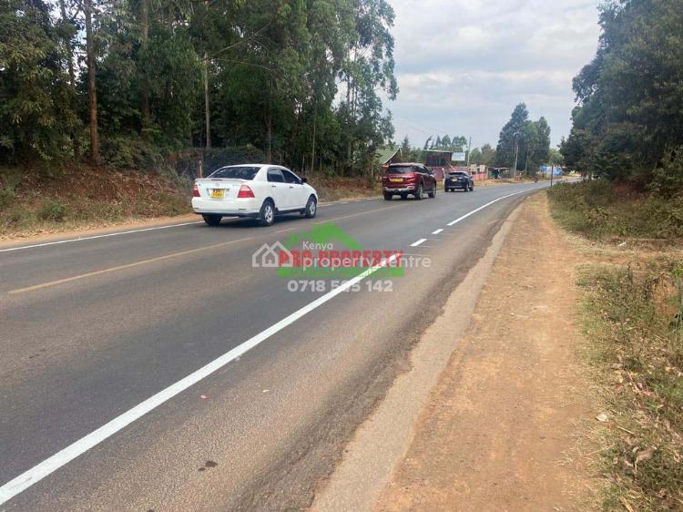 One Acre Land on Tarmac in Kikuyu, Gikambura (nairobi Ndogo), Gikambura, Kikuyu, Kiambu, Commercial Land for Rent
