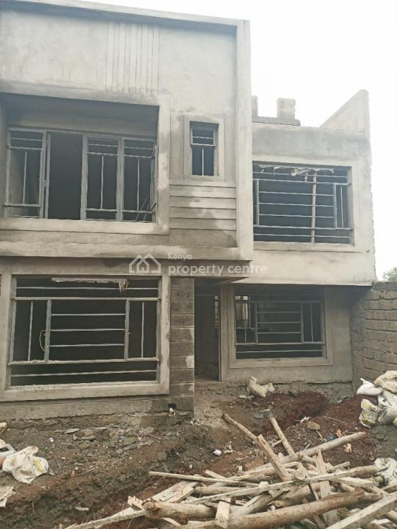 Modern 4 Bedroom Flat Roof 3 Level Maisonette with Dsq in Kikuyu, Gikambura, Kikuyu, Kiambu, House for Sale