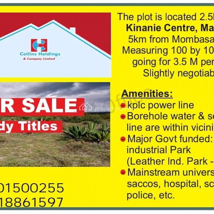 Prime Plot, Mavoko,mombasa Road, Athi River, Machakos, Mixed-use Land for Sale