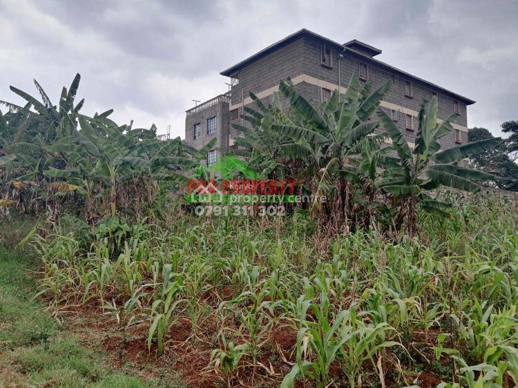 Commercial Plot in Kinoo, Kihumo., Kihumo, Kikuyu, Kiambu, Commercial Land for Sale