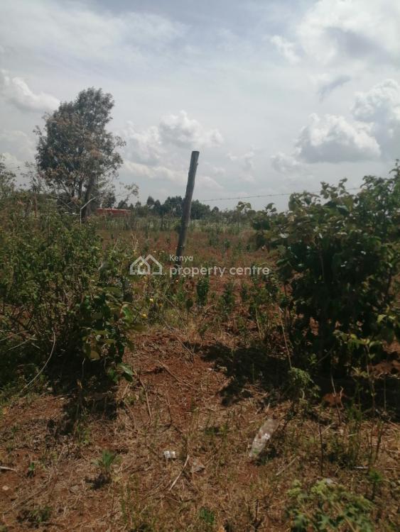 Prime Quarter of an Acre Touching Tarmac in Kamangu Kikuyu., Kamangu Kikuyu Touching Thogoto Mutarakwa Road, Thigio, Kikuyu, Kiambu, Land for Sale