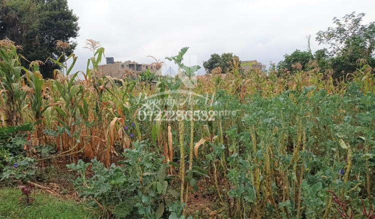 Prime Commercial (flats) Plots, Thogoto, Kikuyu, Kiambu, Commercial Land for Sale