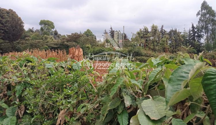 Residential / Commercial Plot Near Shopping Center, Gikambura, Kikuyu, Kiambu, Mixed-use Land for Sale