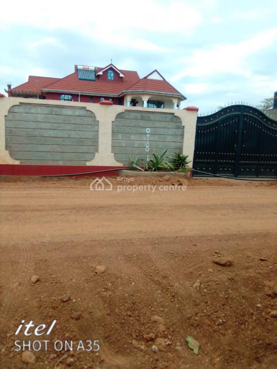 5 Bedroom Maisonette Dsq on a Quarter Acre in Kenyatta Road Kiambu, Kenyatta Road Ruiru, Ruiru, Kiambu, House for Sale