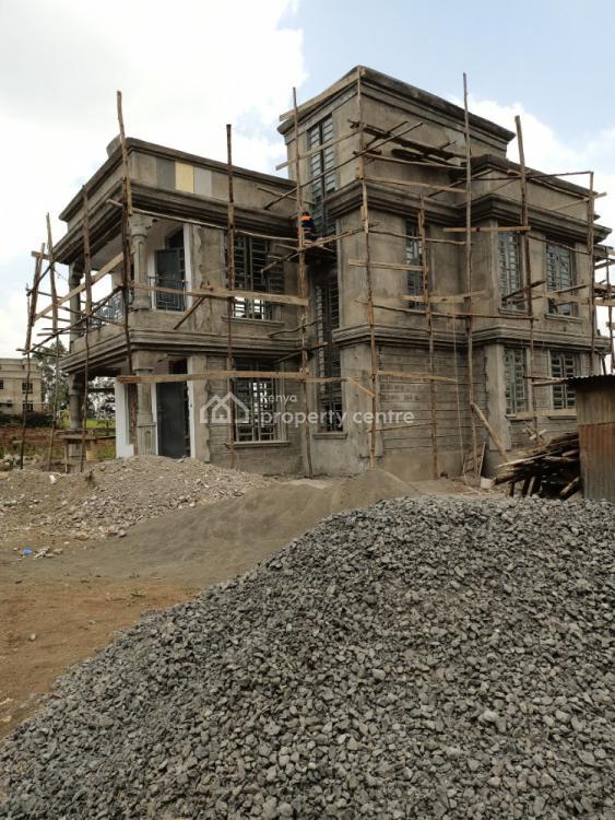 Modern 4 Bedroom Flatroofed 3 Level Maisonette 500m From Tarmac Kikuyu, Gikambura Kikuyu, Kikuyu, Kiambu, House for Sale